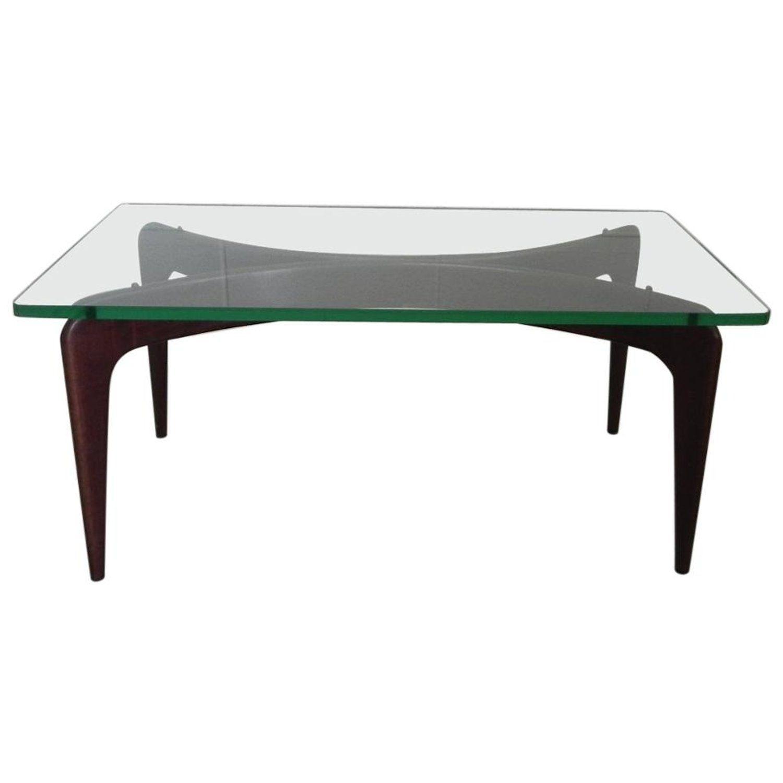 Rare Gio Ponti Mahogany Coffee Table By Fontana Arte Mahogany Coffee Table Coffee Table Fontana Arte Chandelier [ 1500 x 1500 Pixel ]