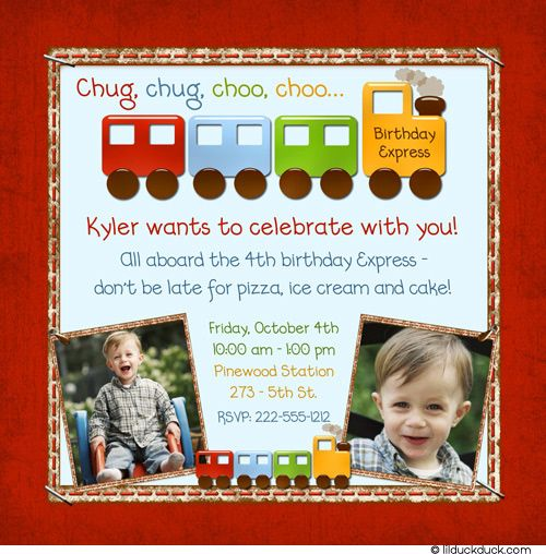 Birthday railways photo invitation party train backyard station birthday railways photo invitation party train backyard station bookmarktalkfo Image collections