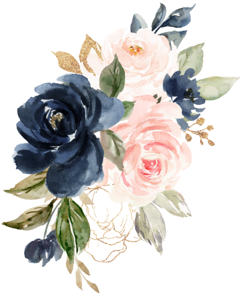 Navy Blue Blush Pink Rose Boho Geometric Wedding Invitation Zazzle Com In 2021 Flower Graphic Flower Art Blush Pink Rose