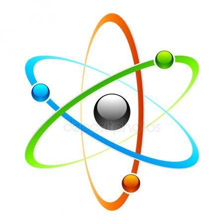 Atom symbol  Stock Vector