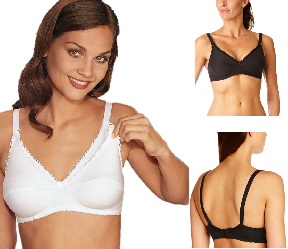 99fe970085 www.lingerieoutletstore.co.uk - Naturana 5089 Nursing Drop Cup Feeding Soft  Full Cup No Wires Full Coverage Bra