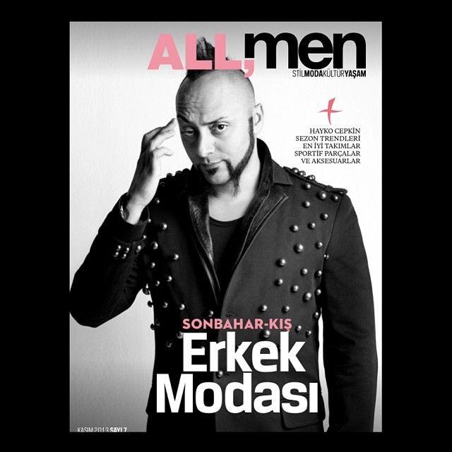 Hayko Cepkin  #ALLmen #cover