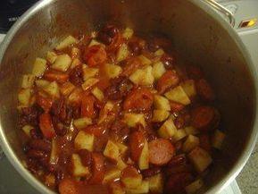 Kidneybohnen-Eintopf mit Cabanossi - Rezept