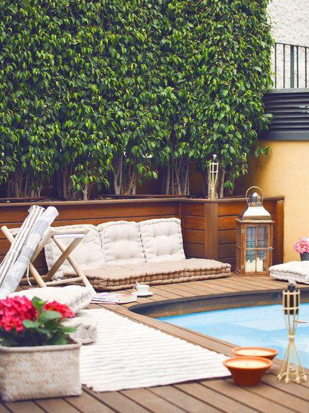Piscines Spas - mini piscine et terrasse coulissante en region