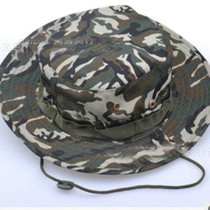 0915faf3e3a Bucket Hat Boonie Hunting Fishing Outdoor Cap - Wide Brim Military Boonie  Hat Army Training