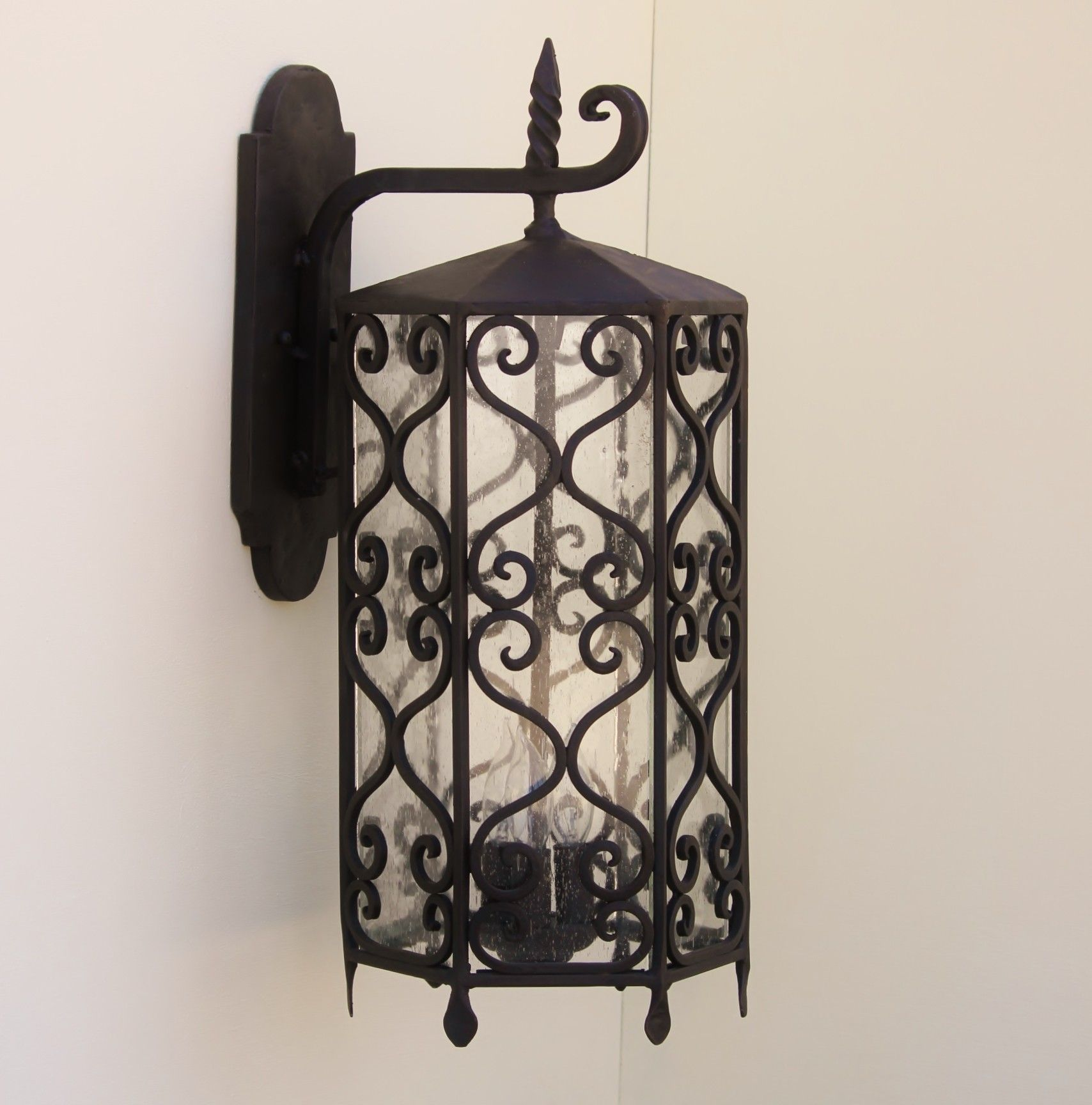 Spanish revival outdoor lighting fixturer wrought iron spanish revival outdoor lighting fixturer wrought iron aloadofball Images