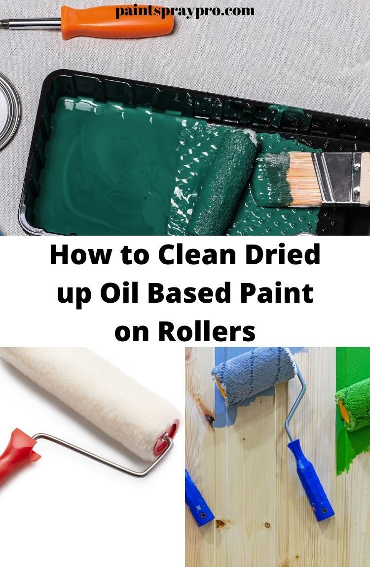 How to Clean Dried Paint Rollers Cleaning paint rollers