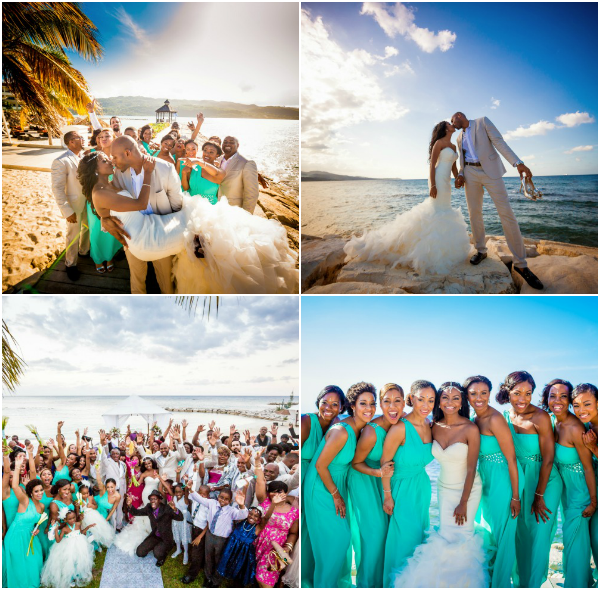 Wedding Hairstyles In Jamaica: Montego Bay, Jamaica Wedding From Dwayne Watkins