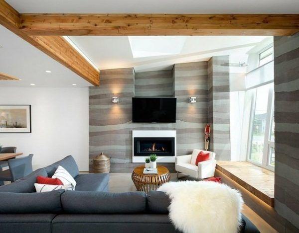 Moderne Wohnzimmer: Trends Und Deko Ideen Für 2018 #ideen #moderne #trends