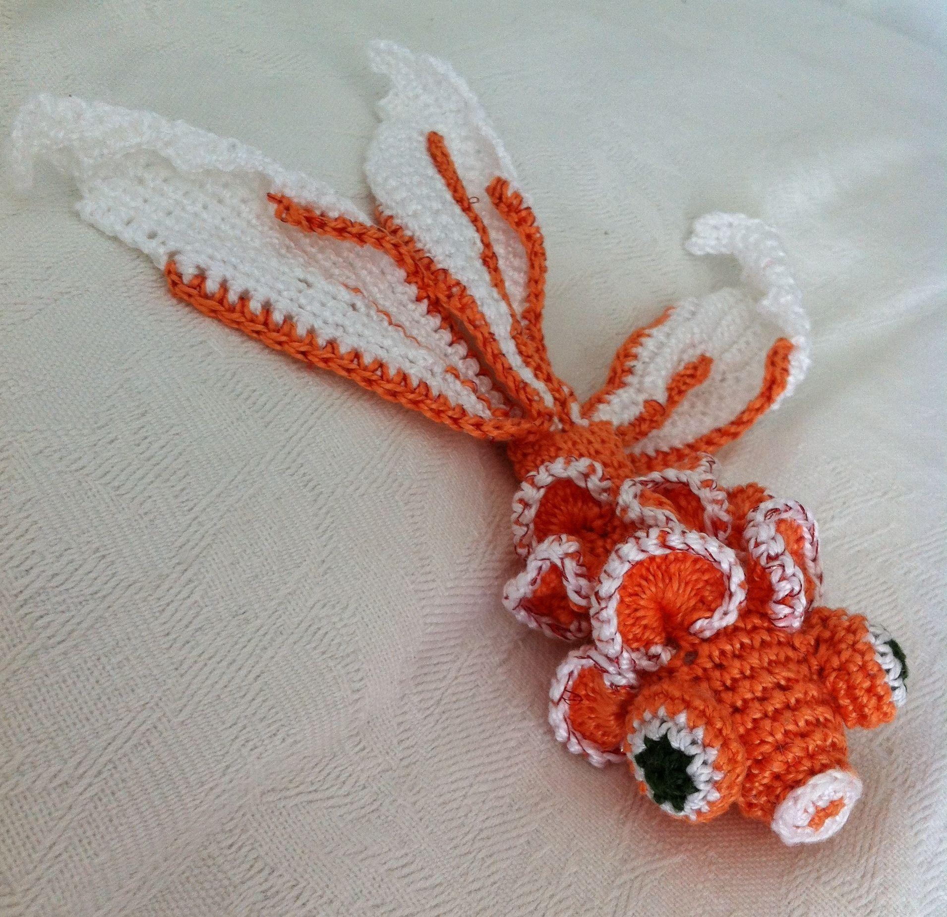 Poisson japonais tricot et crochet crochet crochet japonais et poisson crochet - Poisson rouge gratuit ...