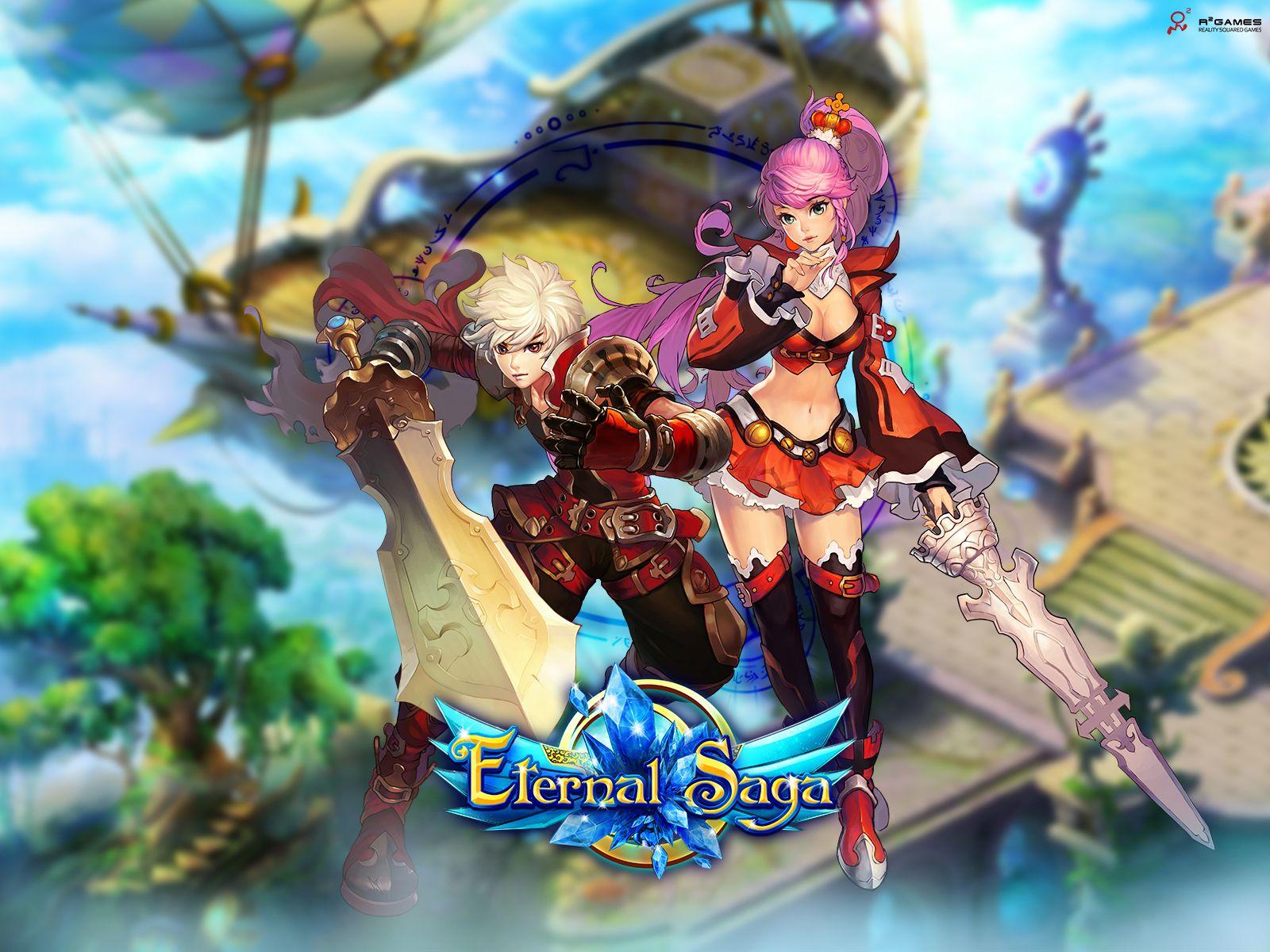 Eternal Saga free to play, storydriven fantasy MMORPG!