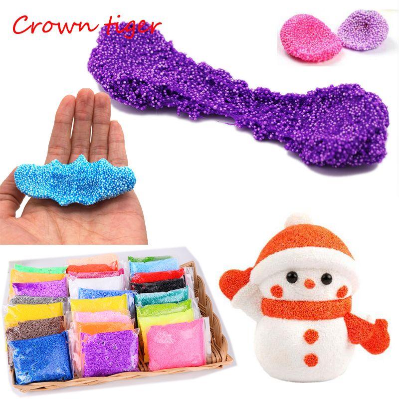Farbe Schnee schlamm Flauschigen Floam Schleim antistress schleim ...