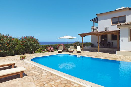 Villa Antouanetta, Argaka in Cyprus. Booked April 2014