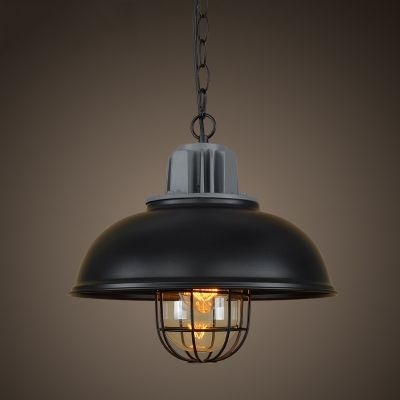 13 wide industrial style pendant lighting with cage industrial 13 wide industrial style pendant lighting with cage mozeypictures Images