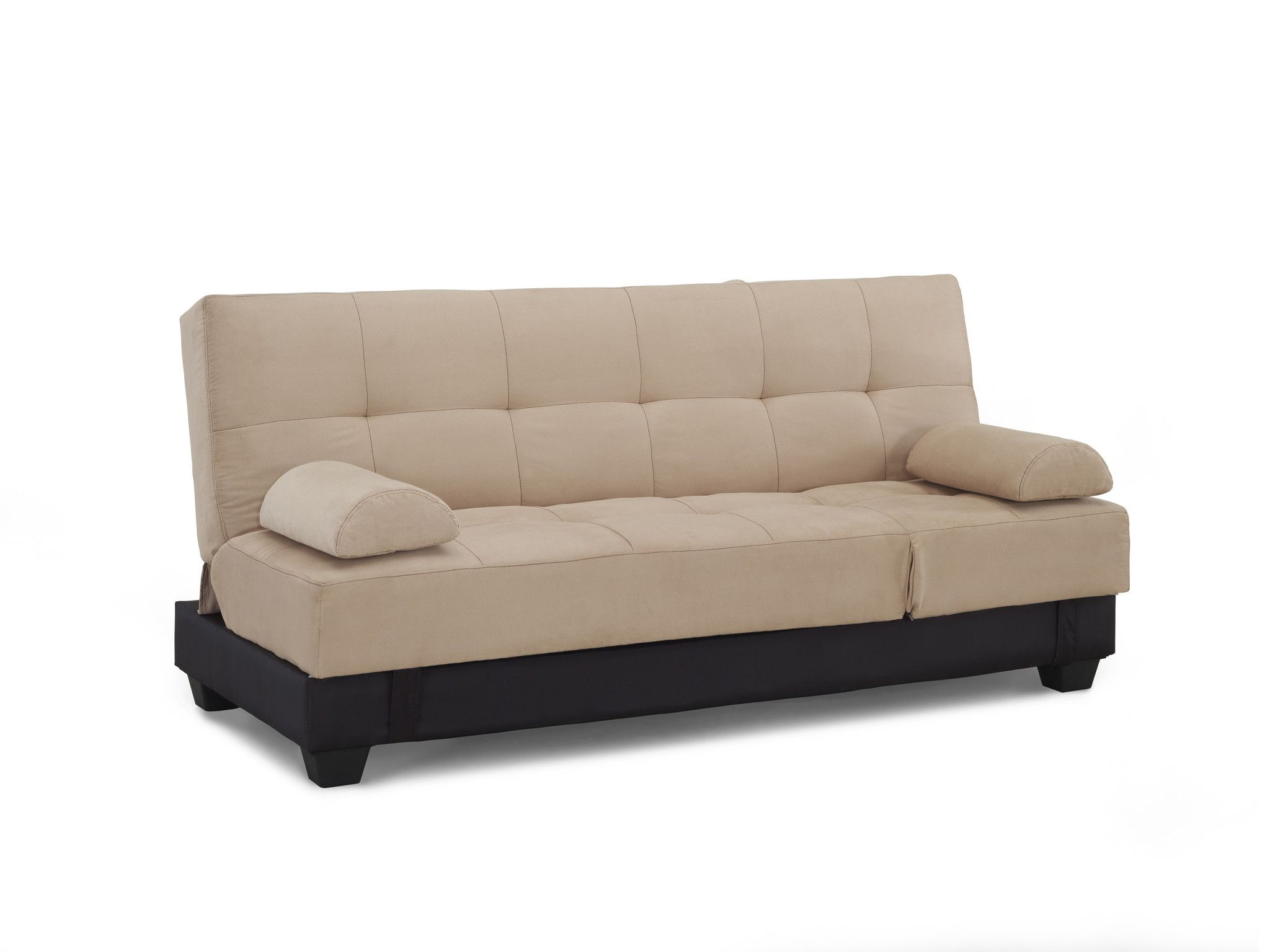 Serta Dream Convertible Harvard Sofa Khaki