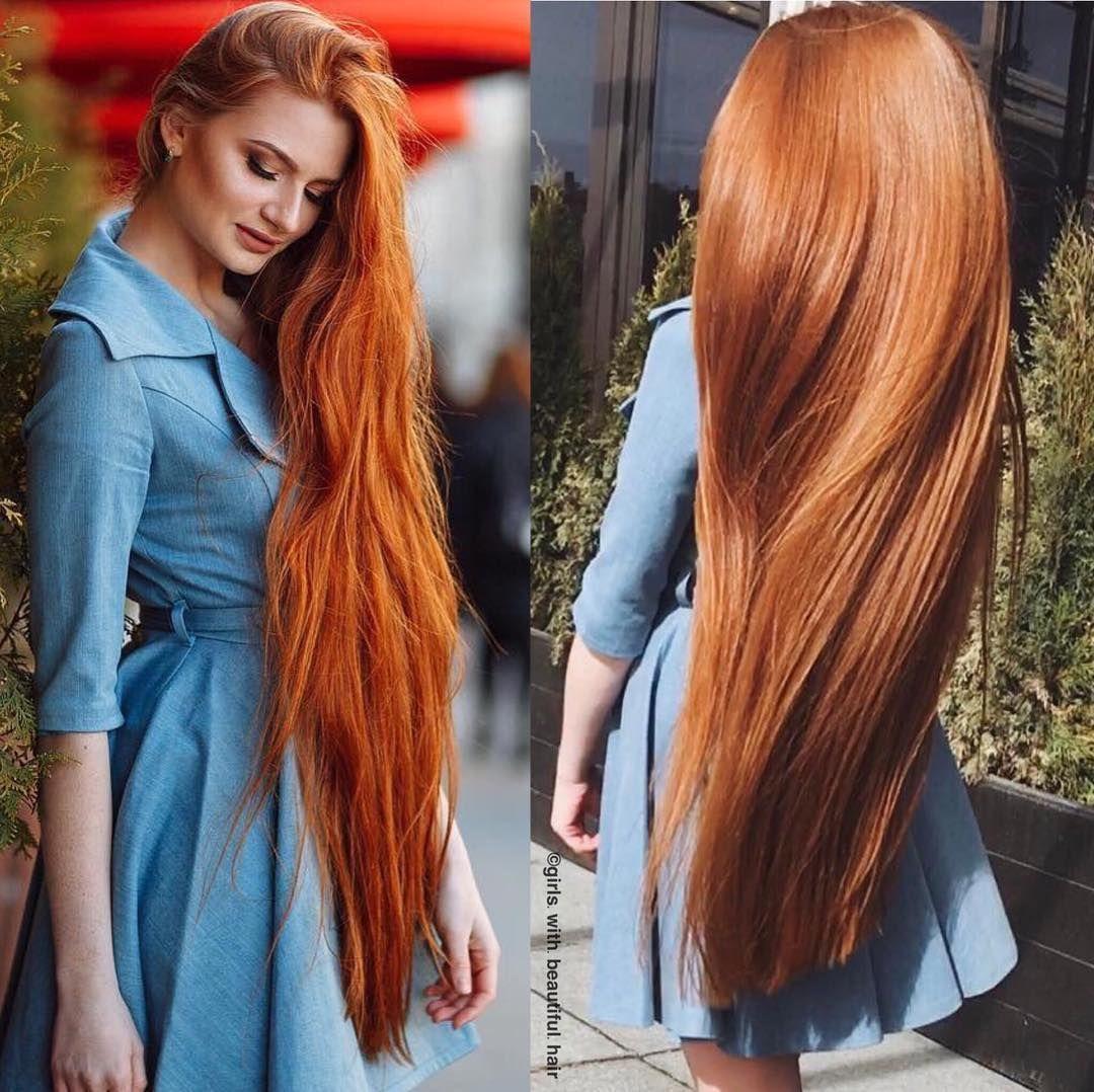 Instagram Long Hair Styles Long Red Hair Red Hair