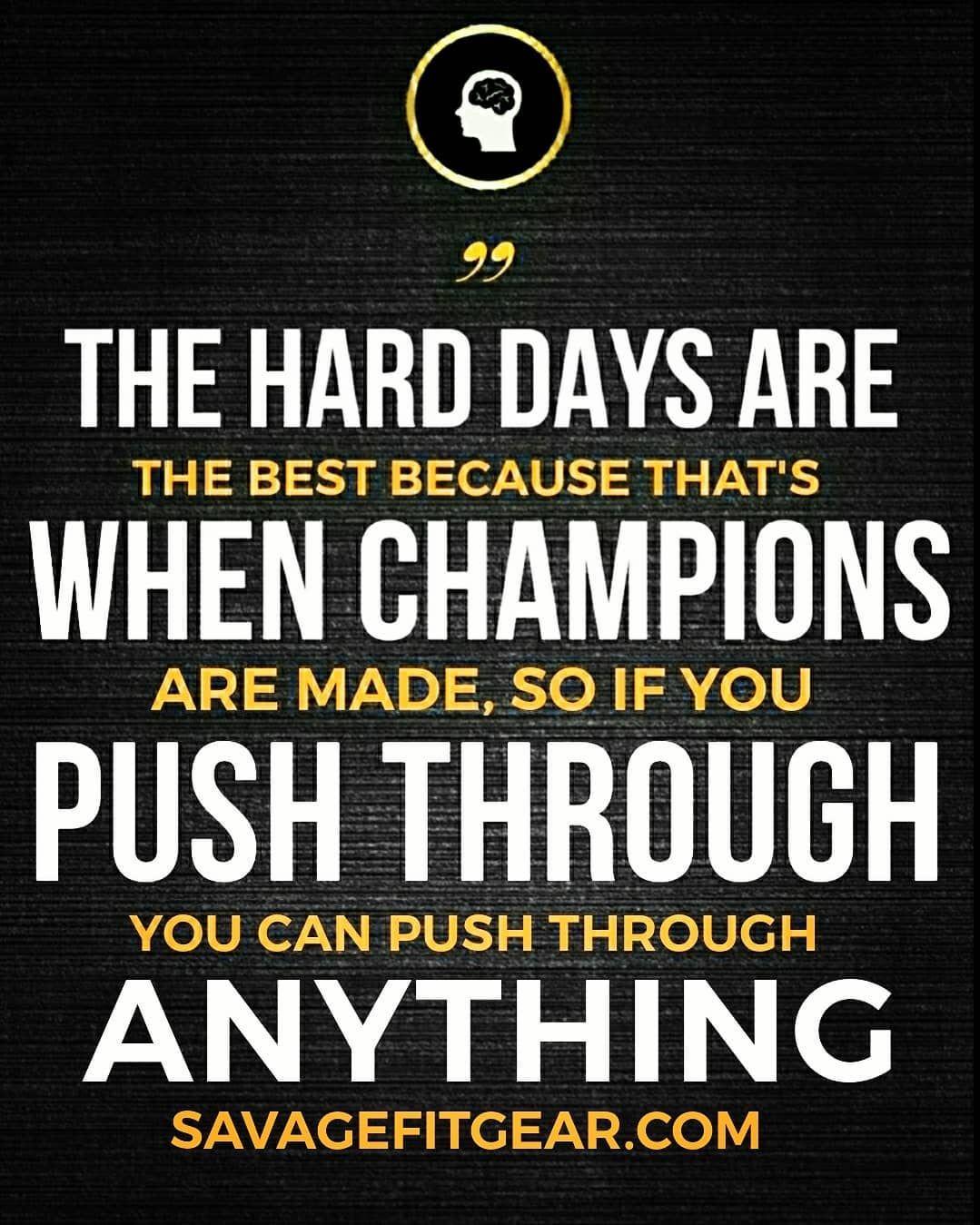 Keep Pushing Through These Hard Times We Will Emerge As Champions Staysafe Tech Company Logos Hard Days Company Logo