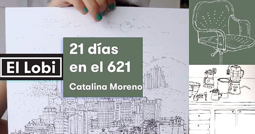 La artista Catalina Moreno nos presenta sus dibujos de la cotidianeidad.