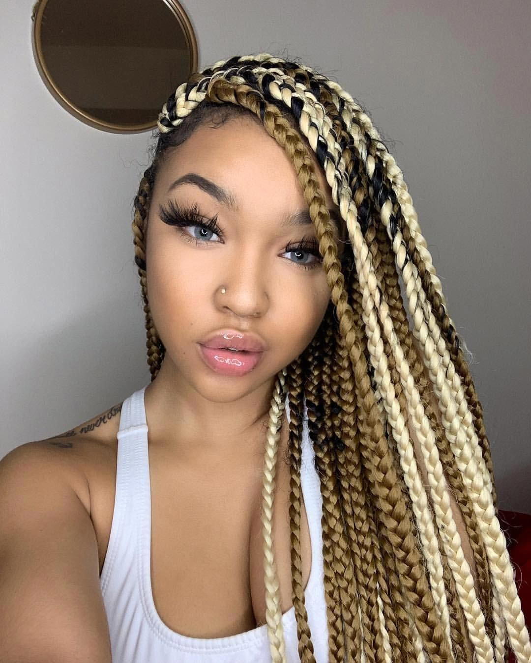 25+ Braiding hair color 60 inspirations