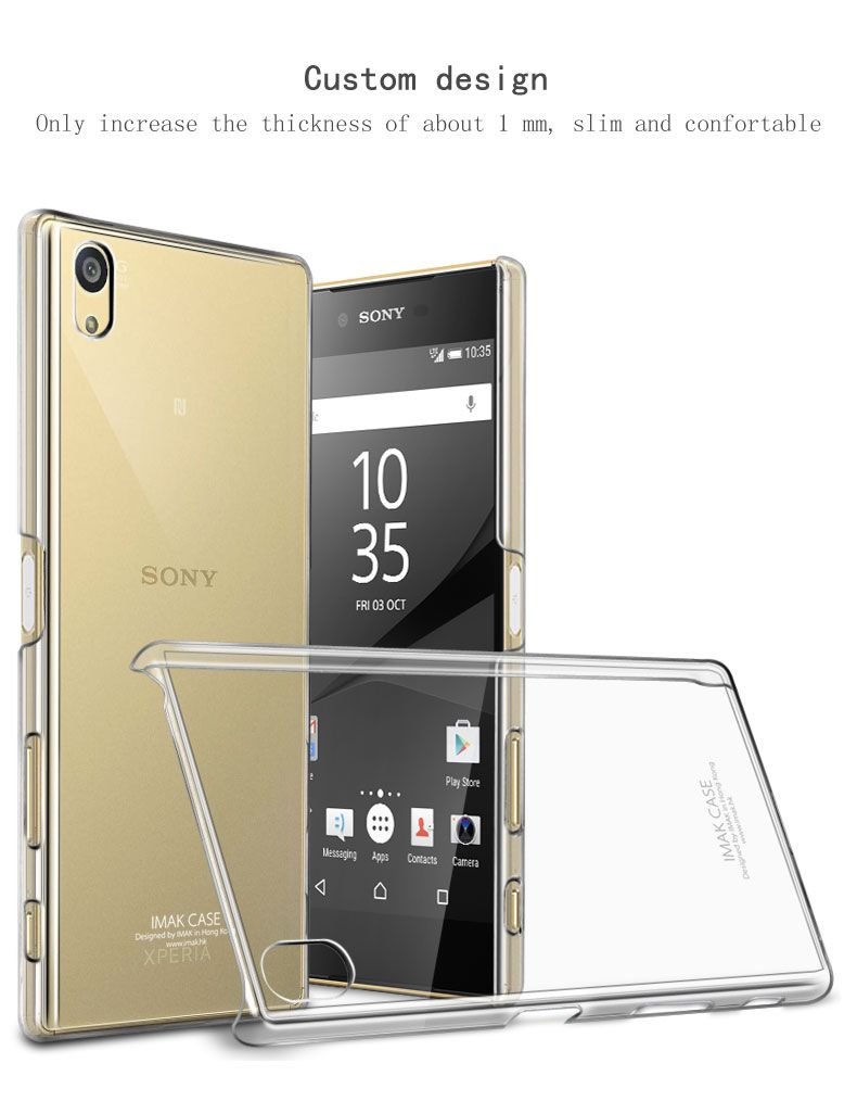 Original imak clear crystal silicone case for sony xperia z5 case original imak clear crystal silicone case for sony xperia z5 case wearable hard case for sony ccuart Gallery