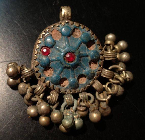 Fabulous handmade vintage kuchi pendant that were handcrafted more fabulous handmade vintage kuchi pendant that were handcrafted more than 50 years ago by a kuchi aloadofball Gallery