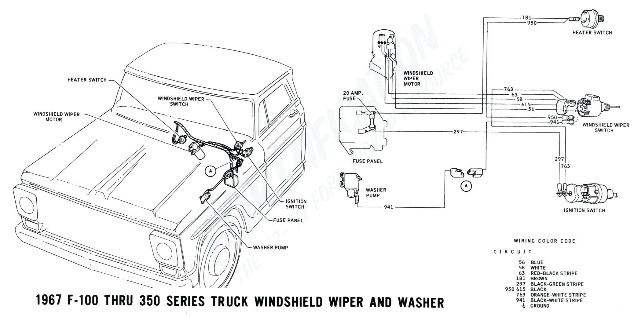 2 Speed Wiper Switch Wiring Diagram