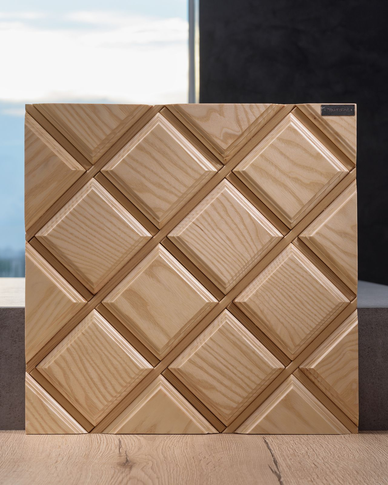Wood Diamond Modern Wall Paneling Wooden Wall Panels Wood