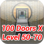 100 Doors X Level 50 70 Walkthrough Update The 100 Levels 70th