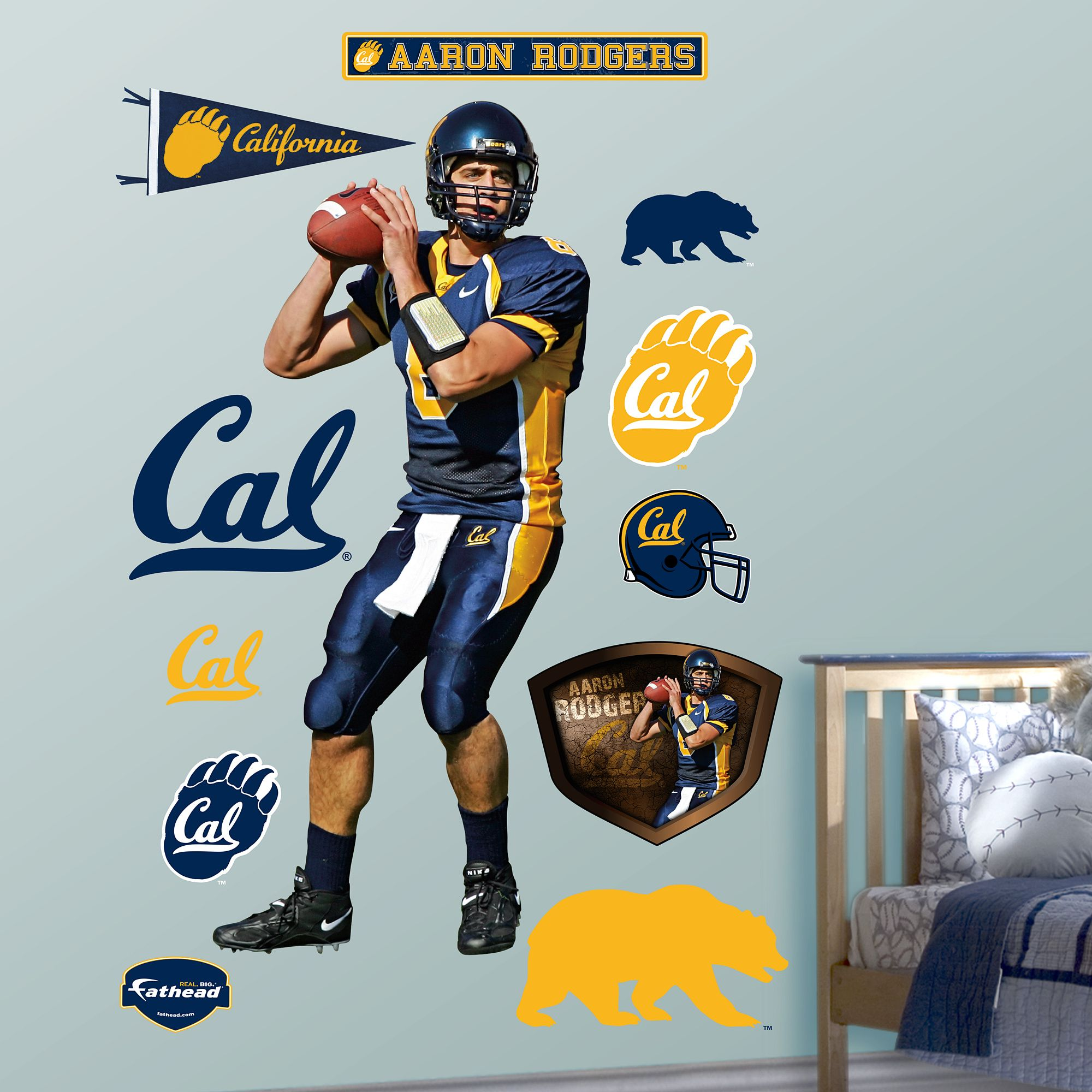 Aaron Rodgers Cal Cal Golden Bears California Golden Bears Golden Bears
