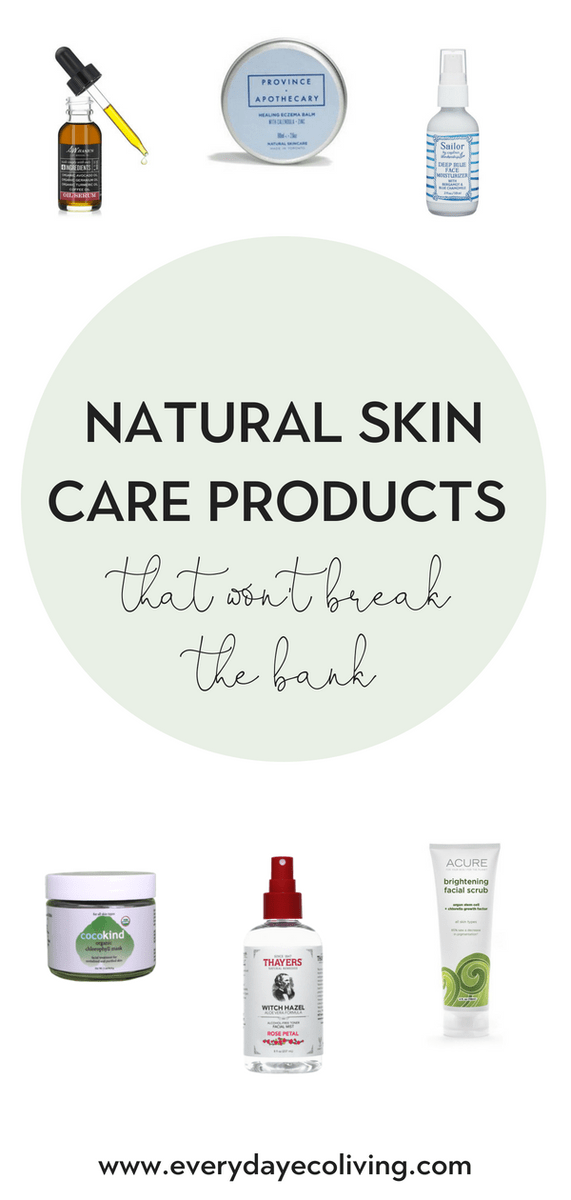 Natural Skin Care Products That Won T Break The Bank Everydayecoliving Skin Care Secrets Anti Aging Skin Products Skin Care Steps