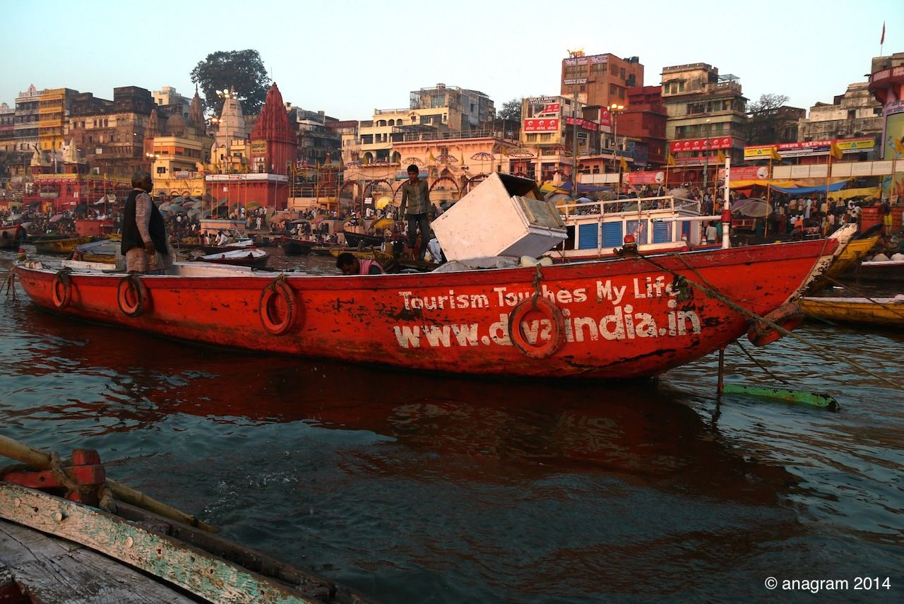 Transport Ship In Varanasi India See