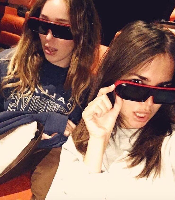 Alycia Debnam Carey And Maia Mitchell