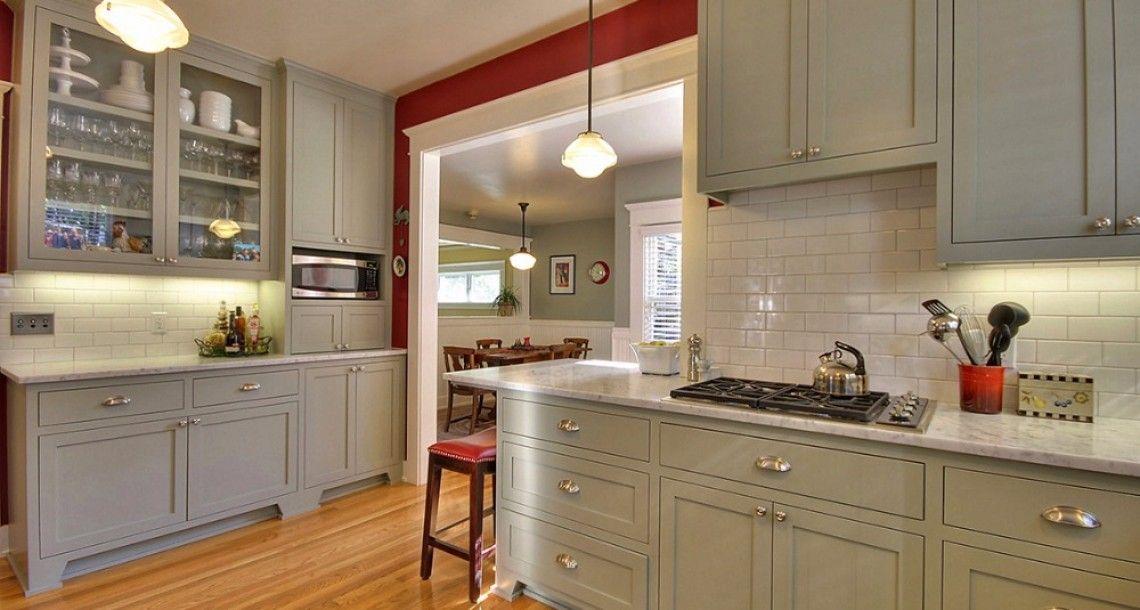 Painted Craftsman Kitchen Google Search Craftsman Interior