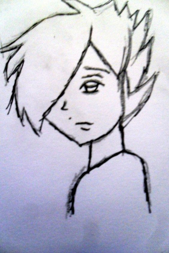 Emo Boys Emo And Sketches On Pinterest Boy Sketch Drawings Sketches