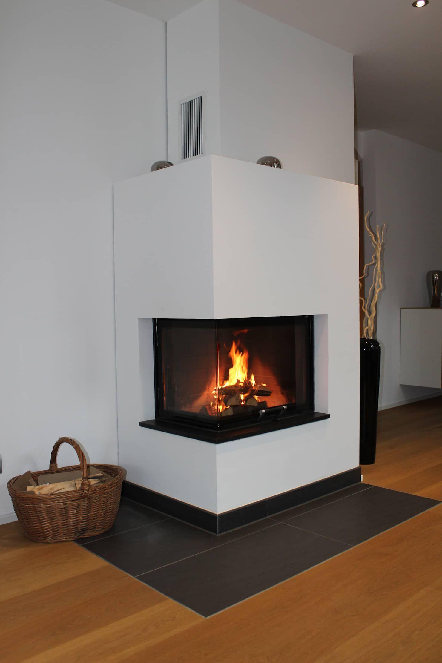 Photo of Eckkamin moderne wohnzimmer von christoph lüpken ofenbau gmbh – kamine aus duesseldorf modern | homify