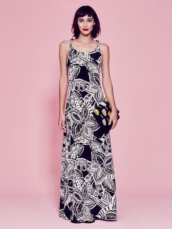 Kirna Zabete printed summer maxi dress