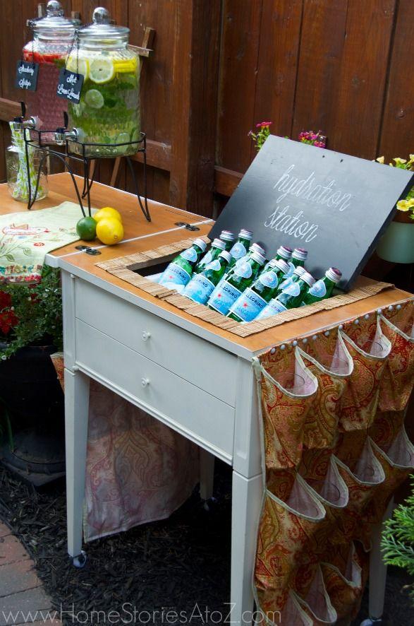 Outdoor Beverage Center Idea Kirkland S Summer Soiree Giveaway
