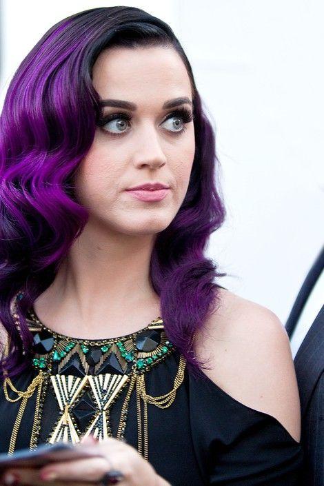 Very Pretty Like A Classy Purple Katy Perry Purple Hair