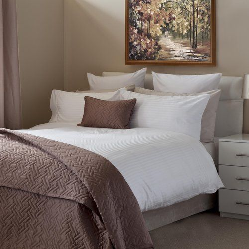 Hotel Wall Street Egyptian-Quality Cotton Duvet Cover Set ...