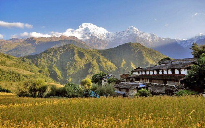Beautiful Village  www.riverholidaysnepal.com