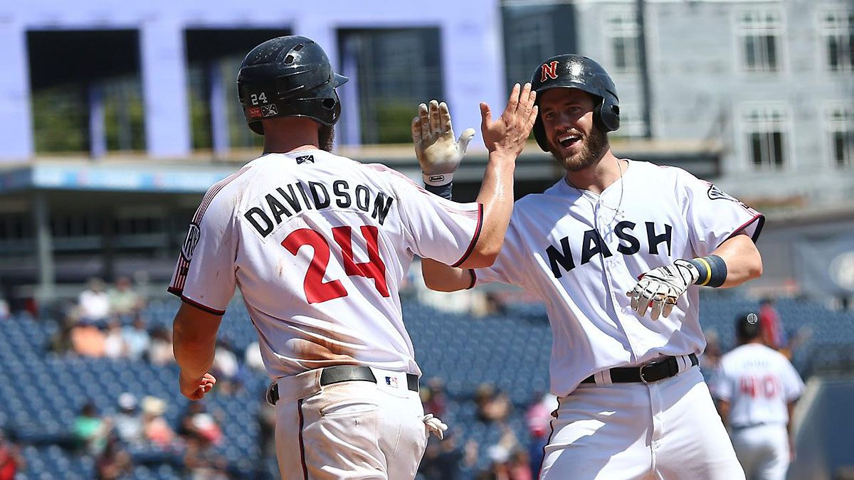 Nashville Sounds End Season With 6 5 Extra Innings Win Over San Antonio Missions Clarksville Tn Online San Antonio Missions Nashville San Antonio