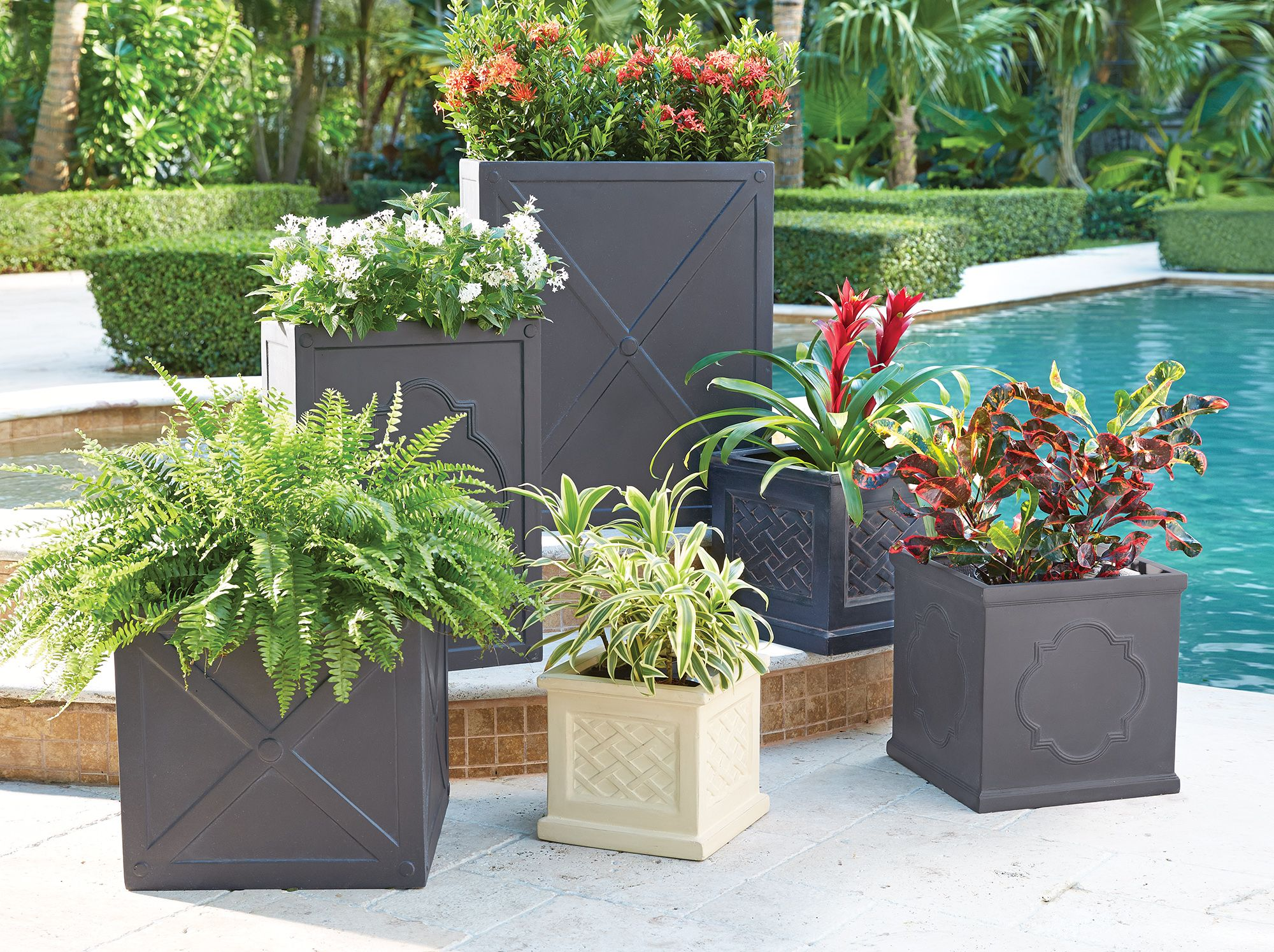 Planters & Window Boxes Garden Planter Pots and