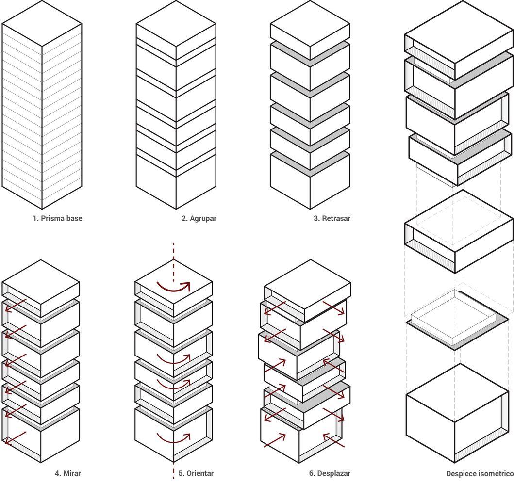 Galeria Arquitectonica: Galería De Esquemas Y Diagramas En La Representación