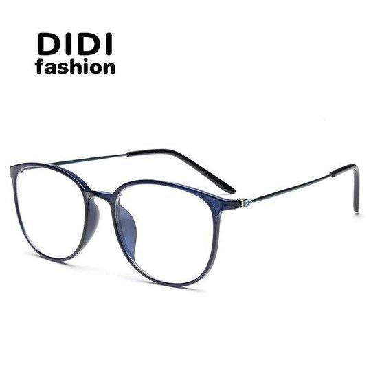 Didi Leopard Tr90 Titan Brillen Dunner Rahmen Frauen Manner Klare Linse Myopiaeosegal Men Eyewear Frames Brille