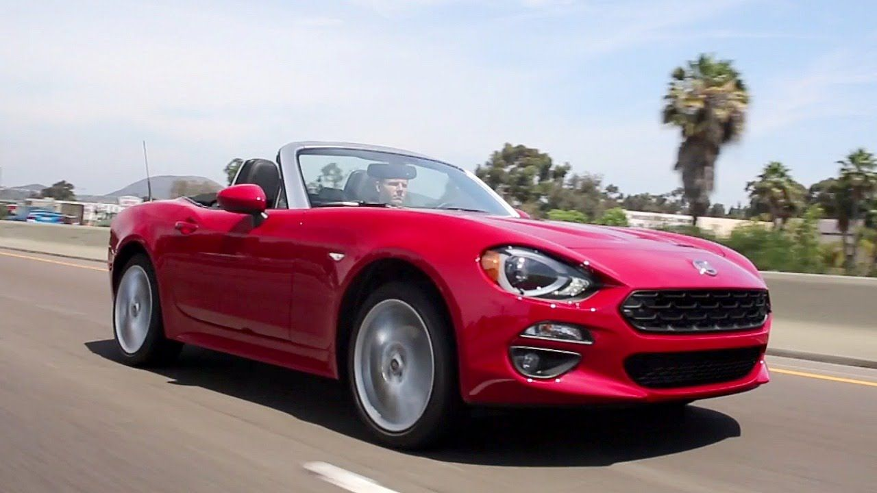 2017 fiat 124 spider review and road test technology amazing rh pinterest com