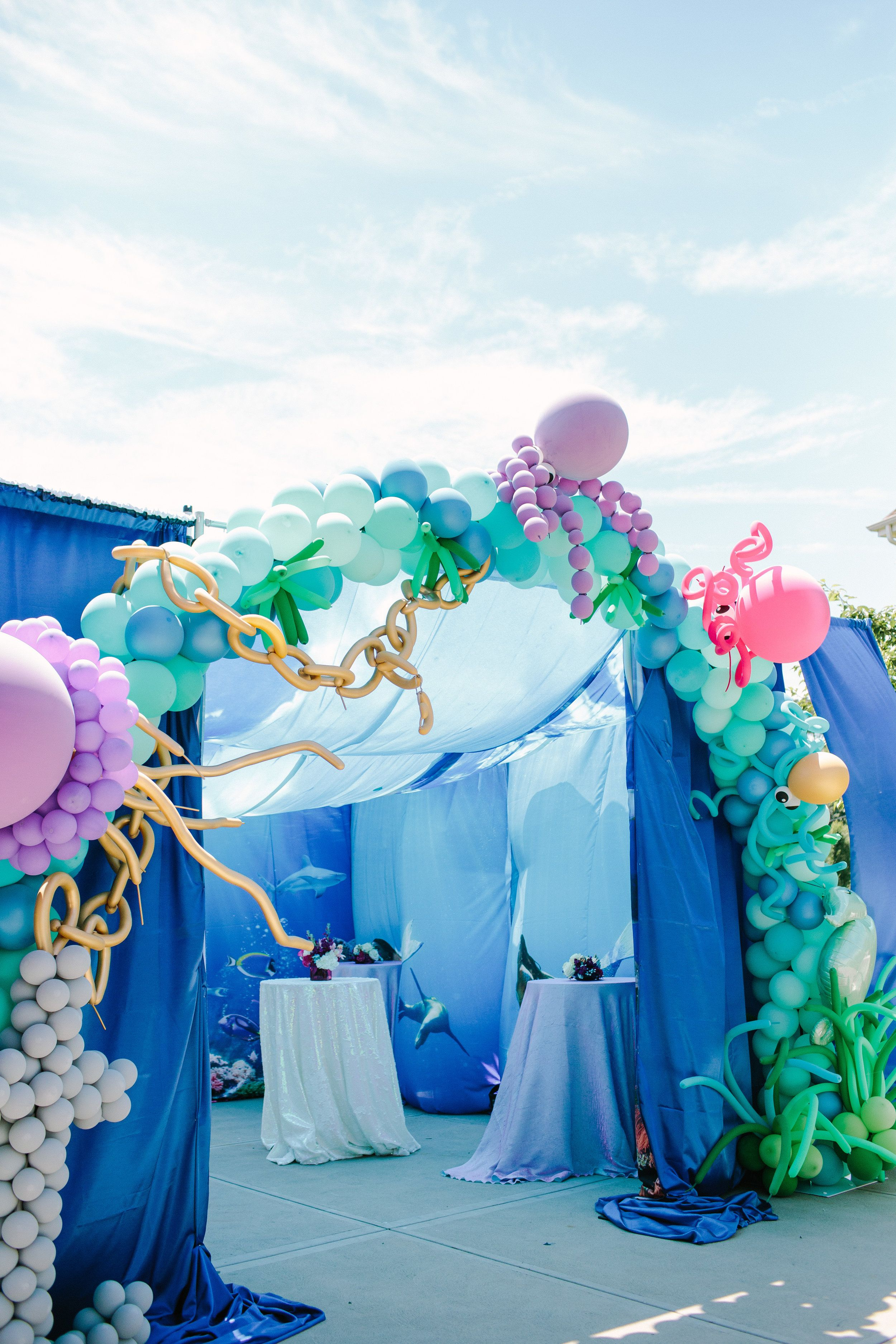 Pittsburgh Event Planner Sea Birthday Party Decorations Mermaid