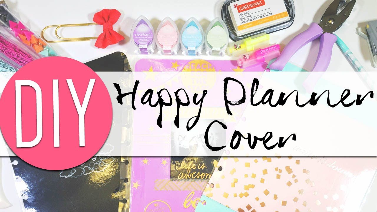 Diy Make Your Own Happy Planner Covers Happy Planner Cover Happy Planner Discbound Planner