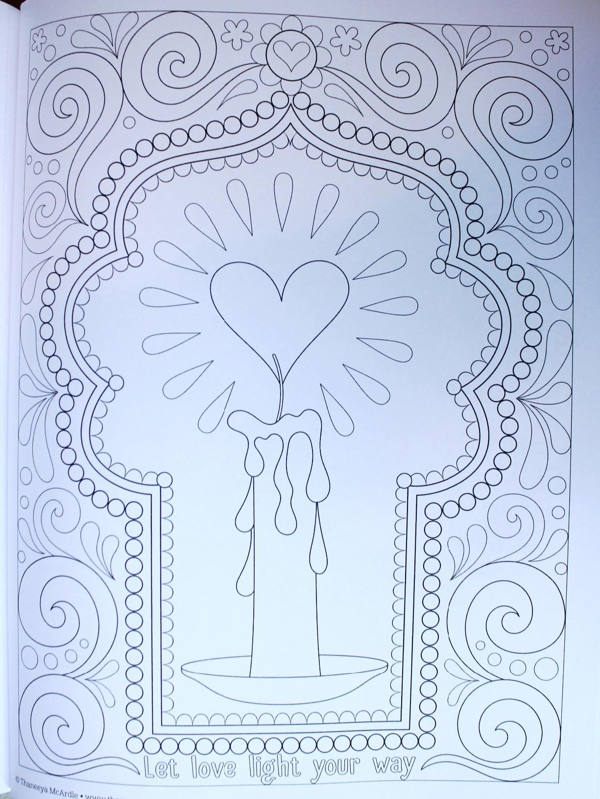 Follow Your Bliss Coloring Book Activity Thaneeya McArdle 9781574219968