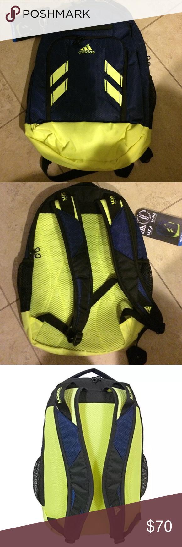 Adidas XXL Rush Backpack NWT Adidas XXL Rush Backpack NWT Adidas Bags  Backpacks f55663634a68e