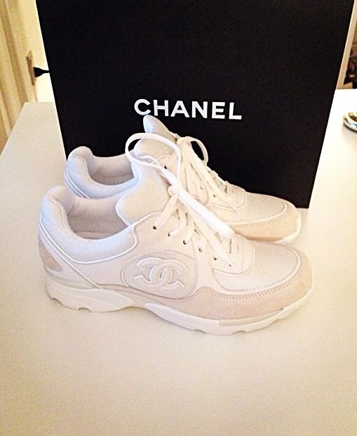 Chanel   Sneakers   White   Shoes   brand   Sneaker   Woman   Fashion 008f38a69171